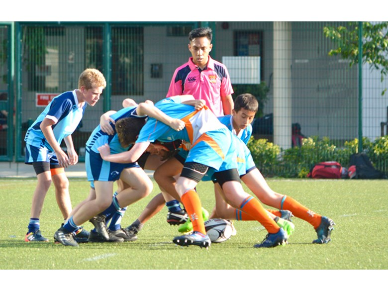 DCIS Under 14 Boys Rugby vs GEMS