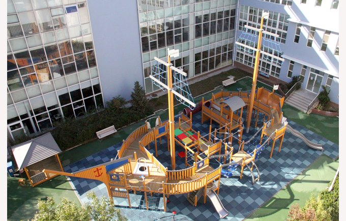 The fun Primary Pirate Ship