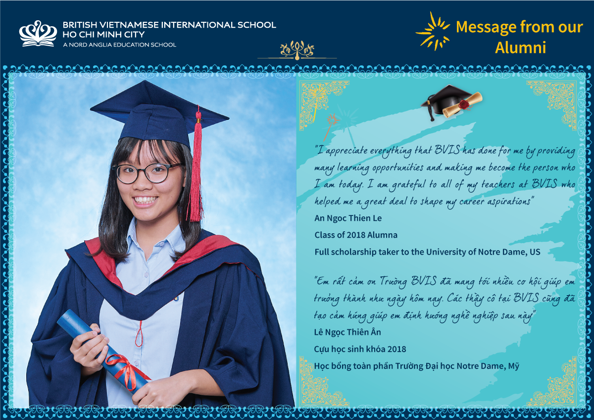 Message from our Alumni BVIS HCMC | Nord Anglia