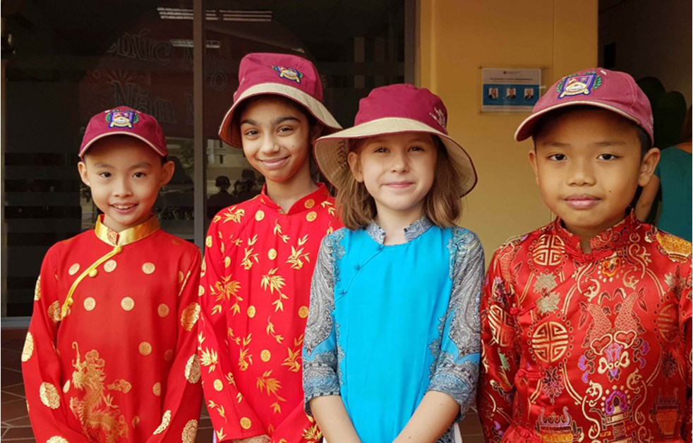 The Fethke Family - British International School HCMC