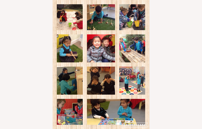 We've been having fun in Nursery!