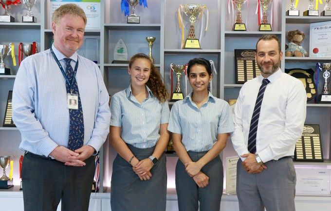 Head Students 2019 Dover Court International School Singapore