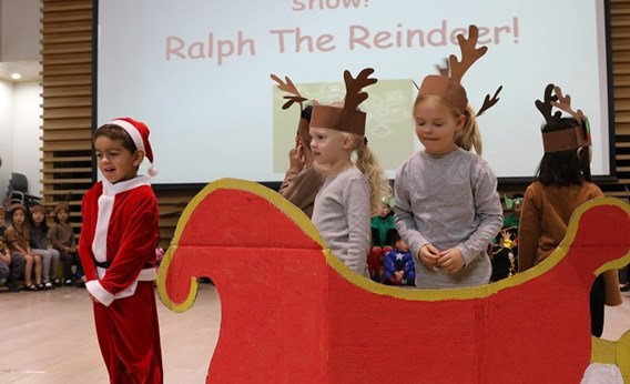 Ralph the Reindeer- Our fabulous Christmas show!
