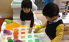 Early Years students at the British International School Shanghai Puxi learn about ice through play