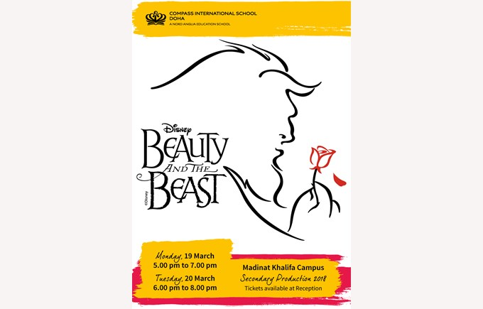 Beauty and the Beast School Production 2018