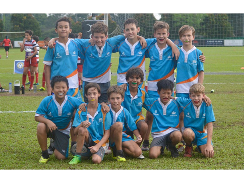 Under 12 Boys Rugby Team
