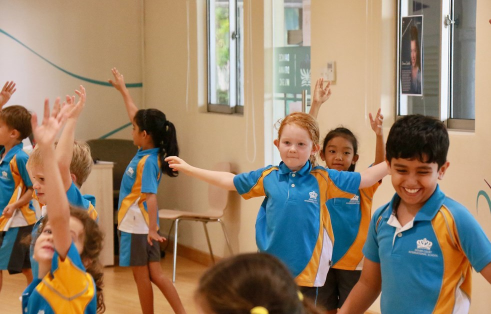 Dover Court International School Singapore Donna Costello Juilliard NAE Collaboration