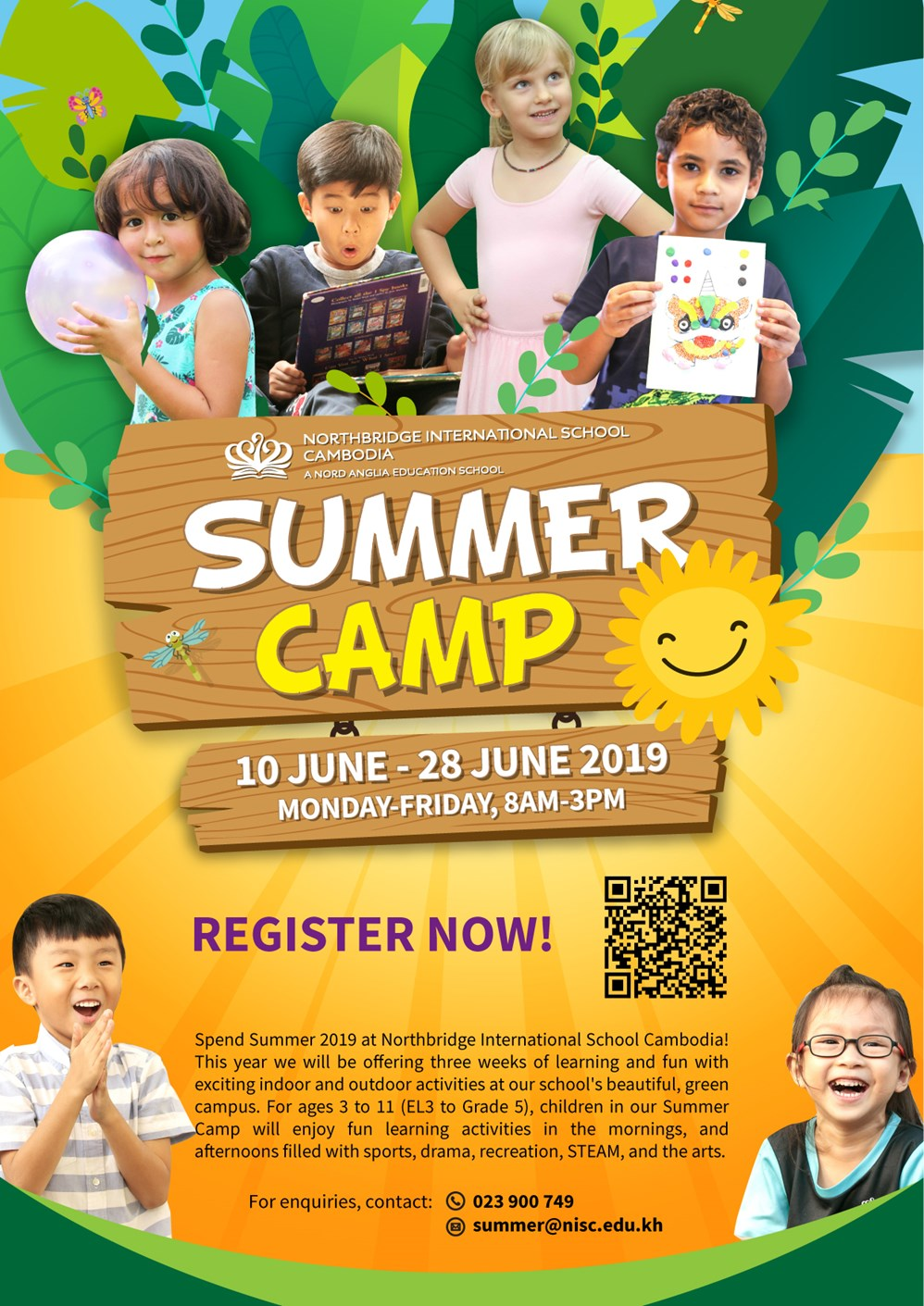 Northbridge International School Cambodia - Summer Camp 2019