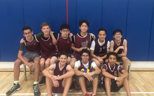 U14 Boys Volleyball City Champs
