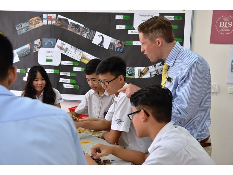 British International School Hanoi learning adventure IB