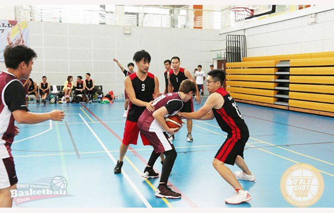 RMIT Basketball Open 2017 featuring BISHCMC 1
