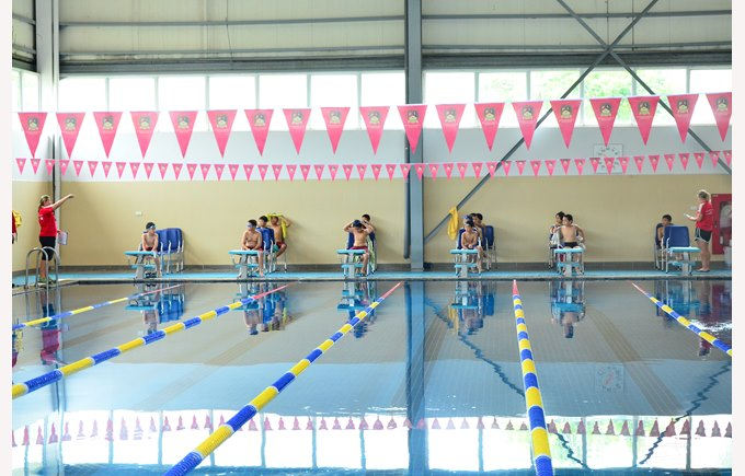 British International School Hanoi Indoor 25m Swimming Pool