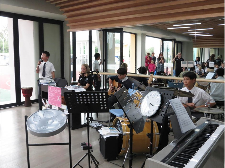 10 Hours of Music at the British Inernational School Shanghai, Puxi Campus