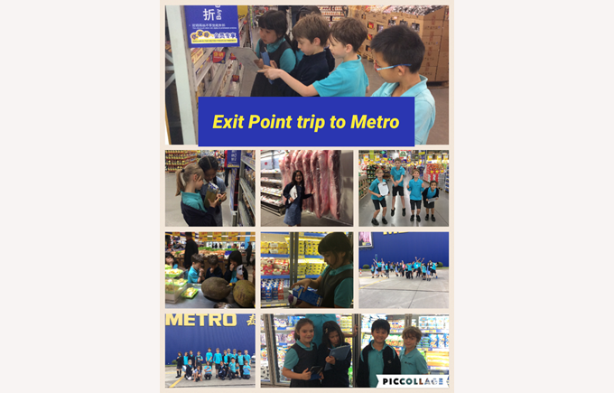Year 4 Exit Point to Metro