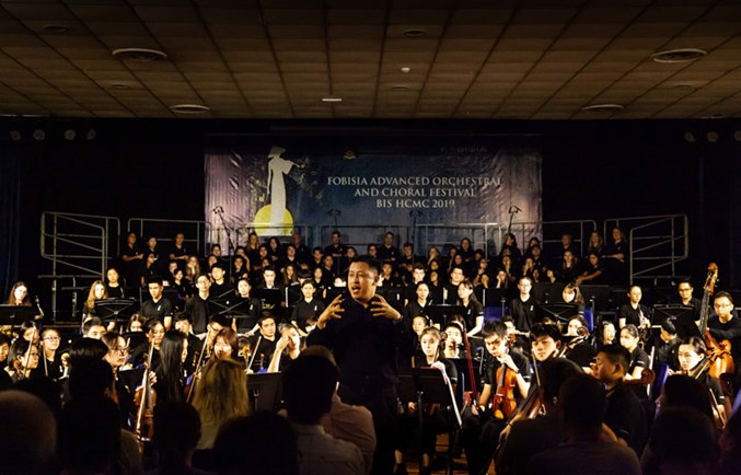 FOBISIA Advanced Orchestral and Choral Festival - BIS HCMC