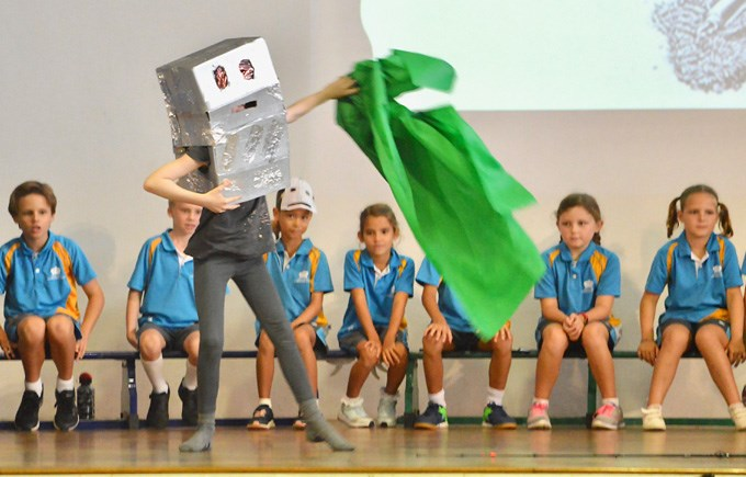 The Iron Man at the 4SO and 4RD Upper Primary Assembly