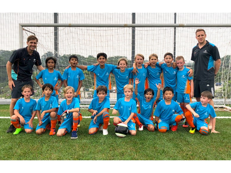 DCIS Under 9 Boys B Football Teams