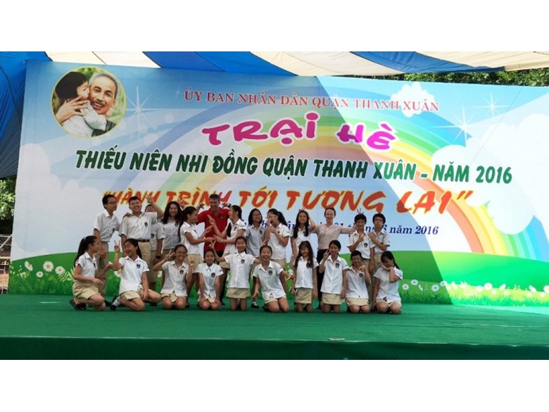 Y7 BVIS Hanoi participated in the English Eloquence Competition