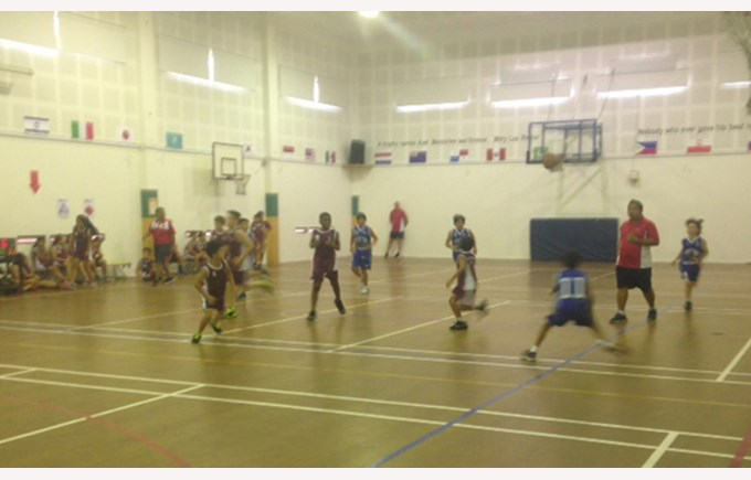 Basketball at An Phu Primary
