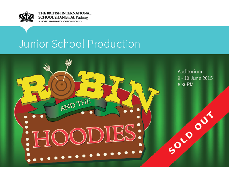 Robin and the Hoodies SOLD OUT