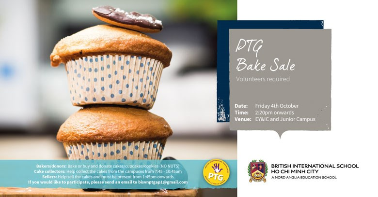 British International School HCMC PTG Bake Sale