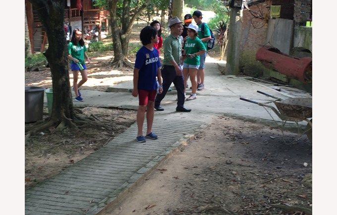 British International School Hanoi Year 8 trip Mai Chau