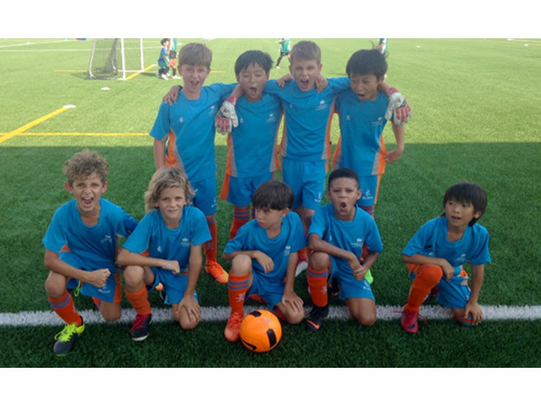 DCIS Under 9 Boys Football A Team