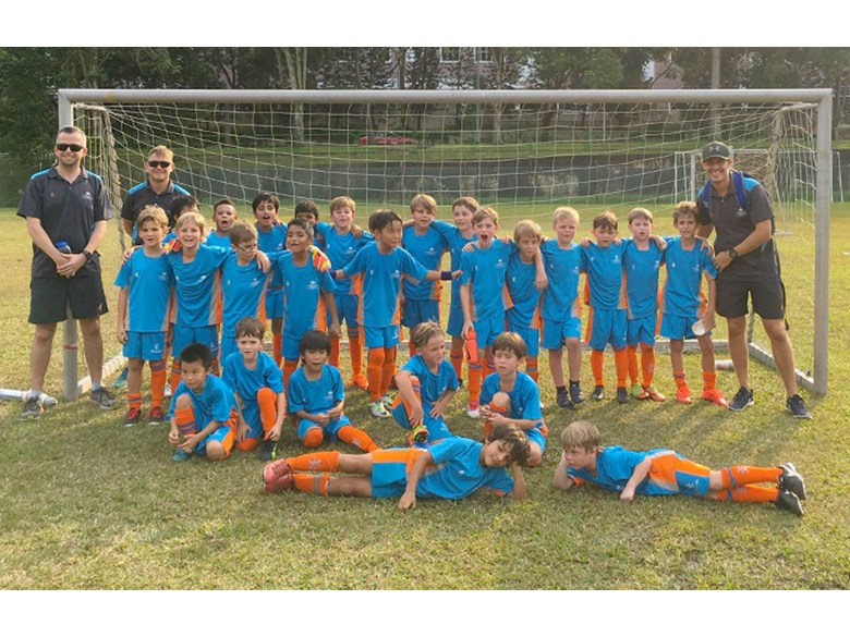DCIS Lions Under 8 Boys Football Teams