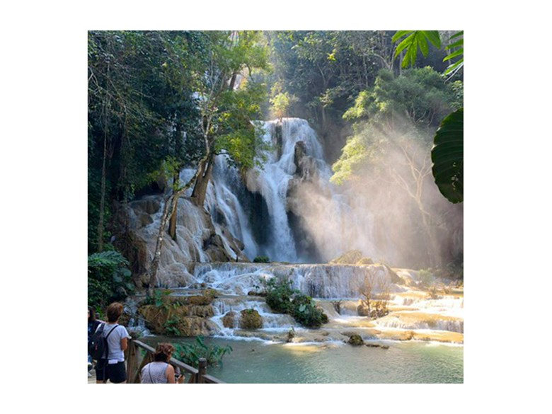 Year 9 Laos Trip 2018 Waterfall