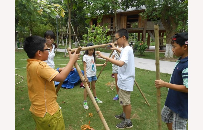 Year 6's Forest School program (3)