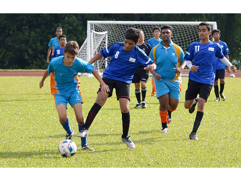 Boys U16 Football Match
