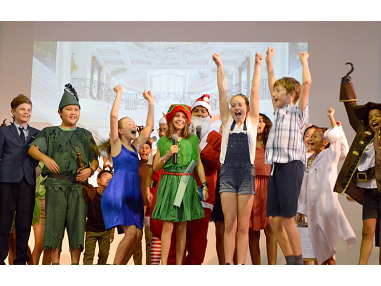 'Fly for Christmas' Assembly Performance