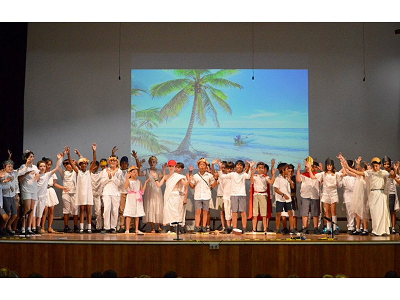 Upper Primary Assembly: Greece by 5JP and 5DH