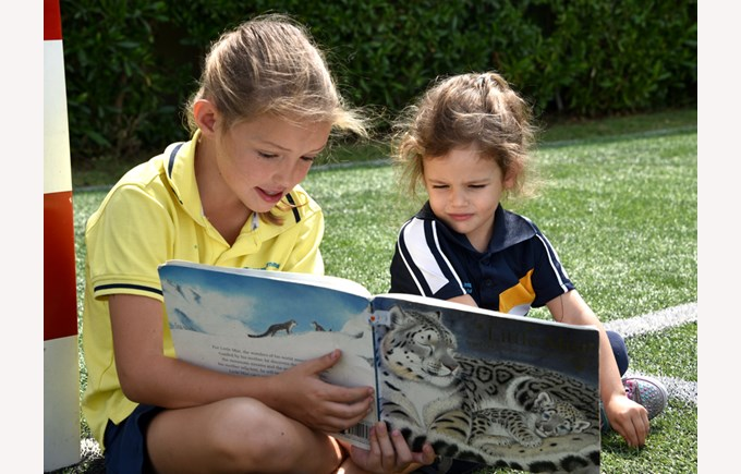 Gharaffa Book Week (Y5 reading to EY)