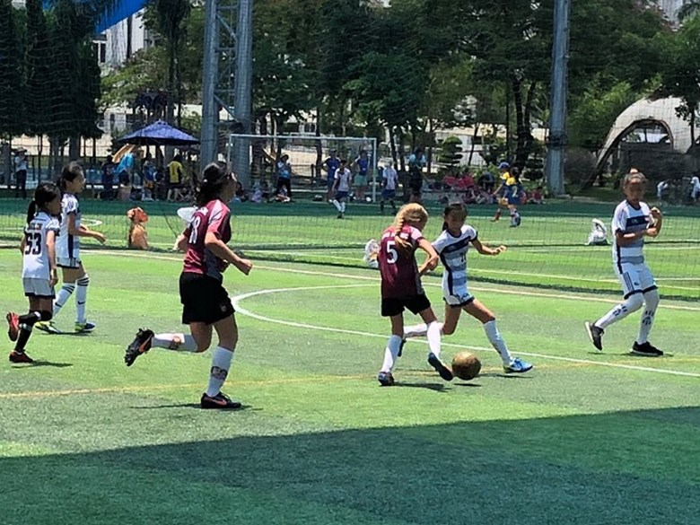 U11 SISAC Girls Football – Pool A (2)