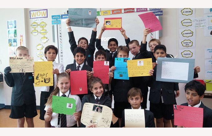 Y5 Spanish students