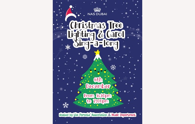 Christmas Tree Lighting & Carol Sing - a - long