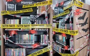 halloween library