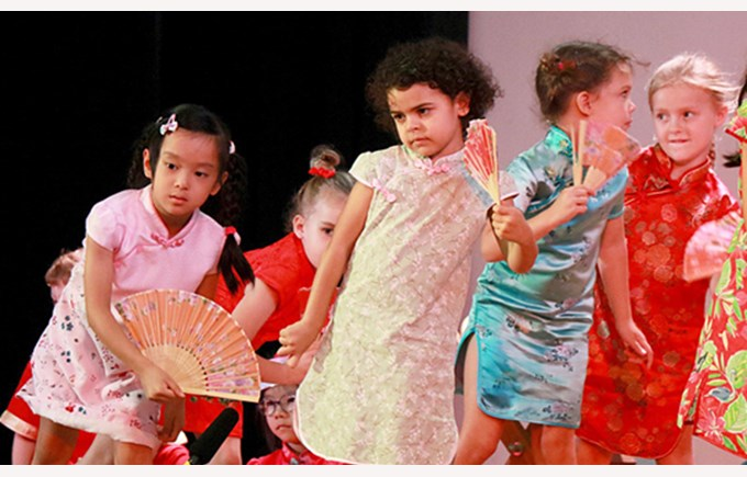 Dover Court International School Singapore Nord Anglia Education Chinese New Year with 1GD and 1MM