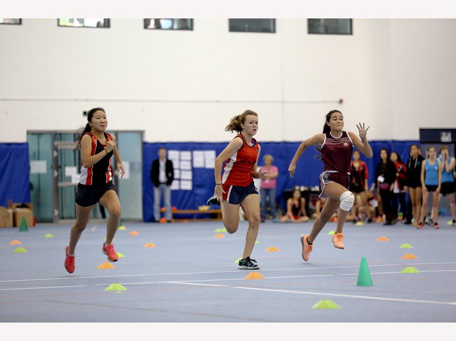 Girl Athletics Competition at FOBISIA U15 Games 2015