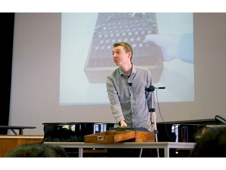 DCIS Secondary School: James Grime Enigma Presentation