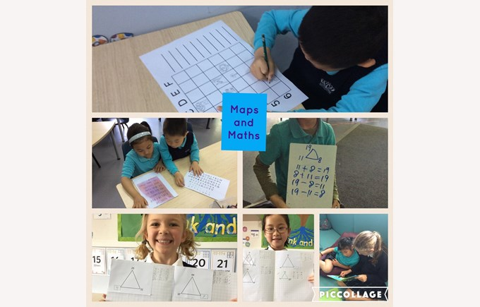 Maps and Maths in Year 1