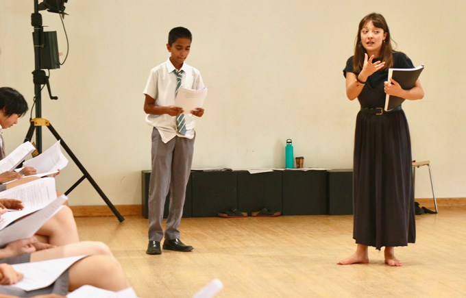 Drama Workshop with Actress Jasmin Colangelo