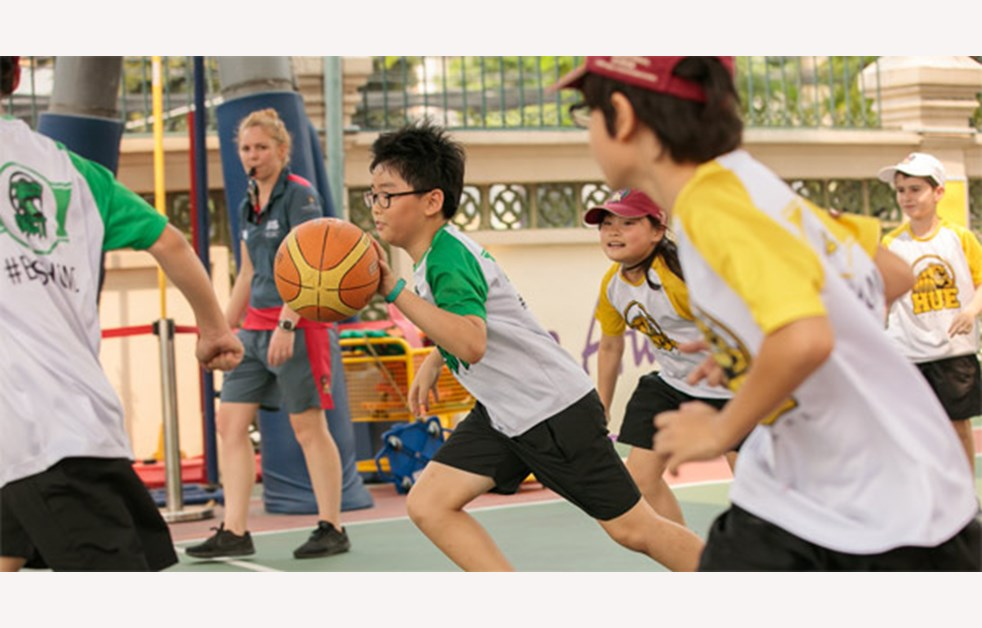 PE and Sports - Basketball BIS HCMC
