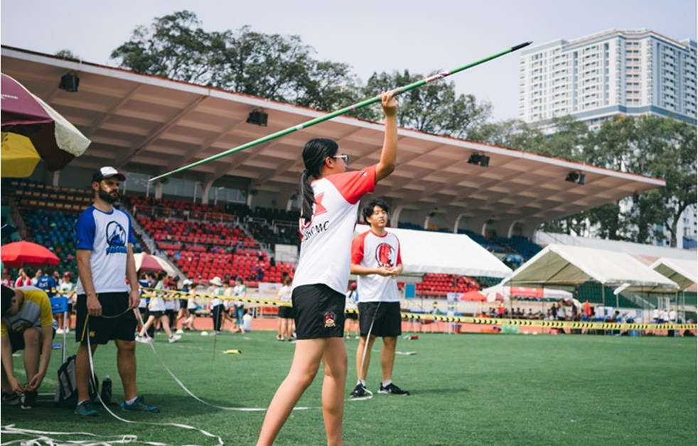 BIS HCMC Secondary Sports Day - Javelin