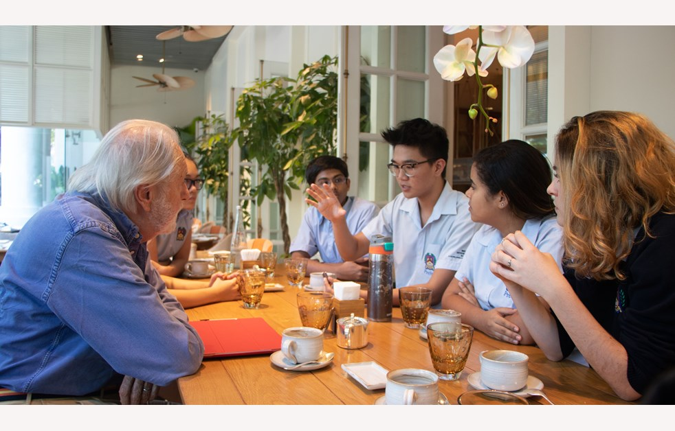 Sixth Form Lunch with Lord Puttnam