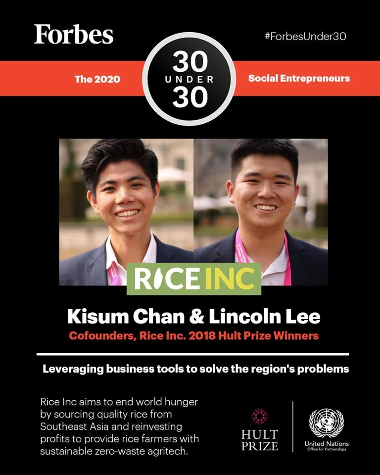 Kisum Chan - Forbes 30 Under 30 | British International School HCMC