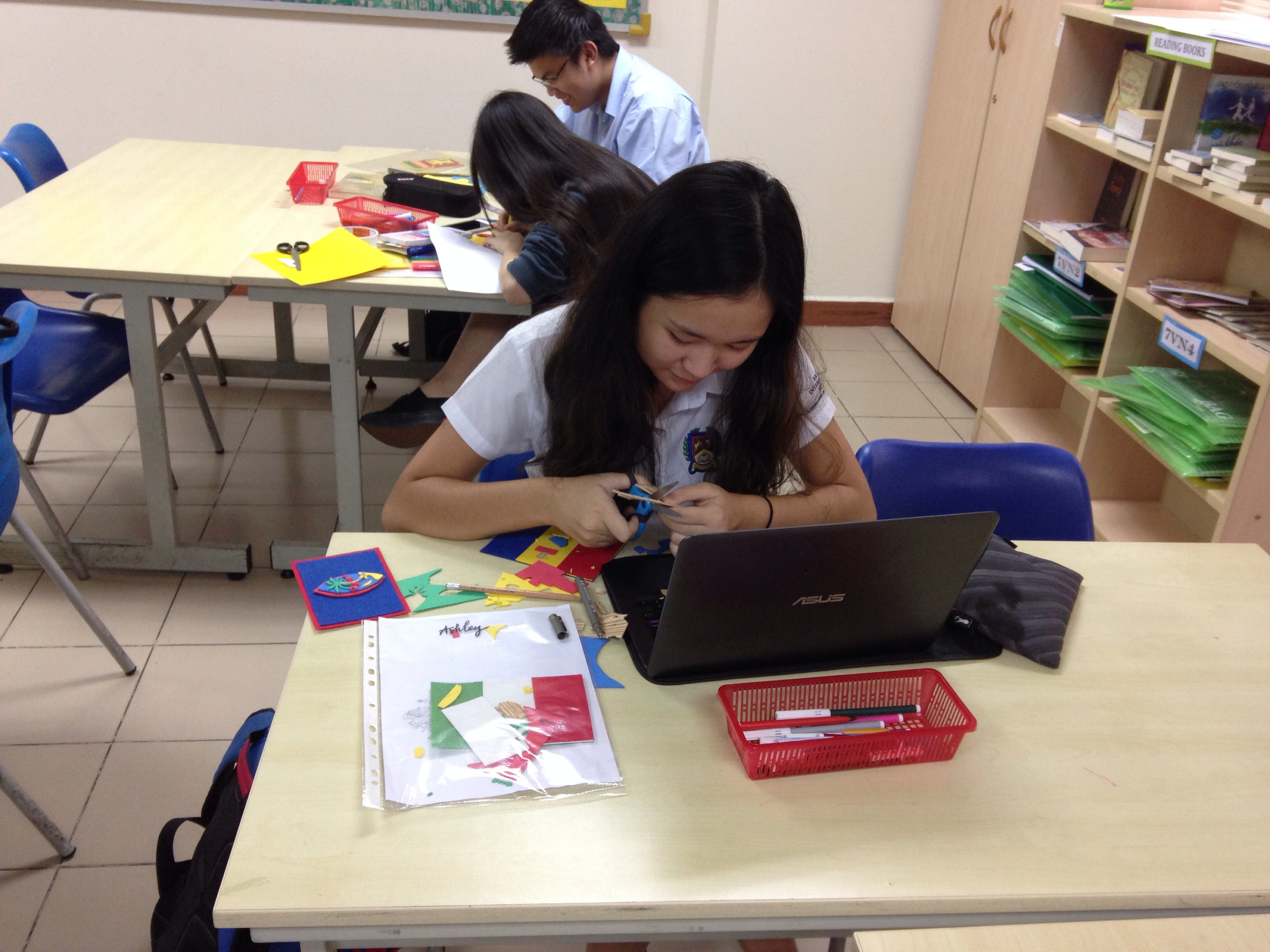 Books for the Blind Club – Term Reflection BIS HCMC 2