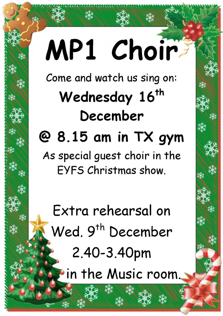 MP1 choir