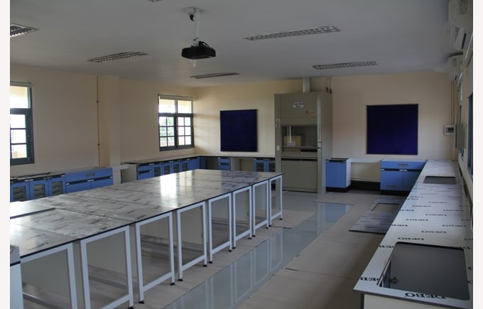 Refurbishment of the Secondary School Science Labs | Regents International School Pattaya